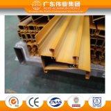 Powder Coating Aluminium Door Railing Extrusion Profiles with TUV Certification