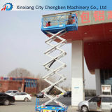 China Small Mobile 8m Lifting Height Hydraulic Scissor Lift with Promote Price