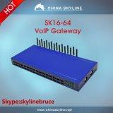 16-64 Ports Sk GSM VoIP Gateway