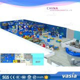 Wenzhou Children Plastic Games Sea Theme Pirate Ship Indoor Playground Equipemnt Price