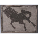 Antique Wall Hanging Art Wall Plaque Home Wall Decoration Horse