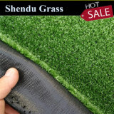 Plastic Fake Green Turf Artificial Synthetic Grass Carpet 7mm 8mm for Garden Landscape/Outdoor Decoration/Flooring Covering/Wall Decoration