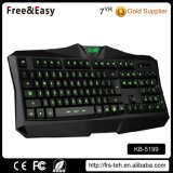 Cool Waterproof Professional Wired Gaming Keyboard