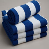 Stripe Print High Quality Manufactures Beach Towel (DPFT8077)