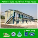 Fireproof EPS Sandwich Panel Low Cost Portable Prefab Two Layer House