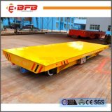 AC Motor Cable Reel Powered Railway Flat Car for Heavy Industry