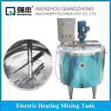 Stainless Steel Cheese Making Machine Electric / Steam Heating Mixing Tank