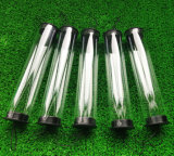 Clear Plastic Packing Tube PVC Pipes PA PC Polycarbonate Tube See-Through Plastic Tube
