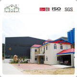 Factory Sample Sandwich Villa Home Light Steel Fram Prefab Building House for Sale
