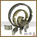 Sunny Core Bit Crown Diamond Segment for Drilling Stone Concrete