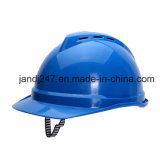 ABC Industrial Safety Helmet/ a Breathable Helmet with Strap in Guangzhou