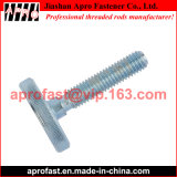 DIN 653 Knurled Thumb Screw with Low Profile Zinc Plated