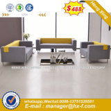 Modern Europe Design Steel Metal Leather Waiting Office Sofa (HX-8NR2235)