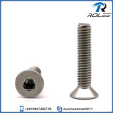 304/316/A2/A4 Stainless Steel Flat Head Socket Cap Screws