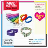 Imee Custom Logo Printing 1t-2t Wristband Pen Name Card Flash Memory Stick Disk Plastic USB