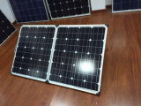 120W Portable Solar System with Generator for Camping