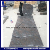 France Monument in Granite Paradiso and Shanxi Black
