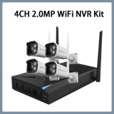 4CH 1080P Wi-Fi IP CCTV Security Kit Wireless NVR System Camera Plug-and-Play VGA HDMI
