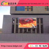 Advertising Outdoor Full Color P6 LED Screen with Iron Cabinet