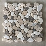 Polished Pebble Resin Stone 1-0.5mm Small Cobblestone Pebbles for Garden Areas