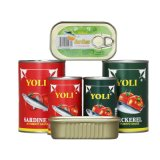 Healthy Aseptic Canned Fish Canned Tomato Paste Canned Food Canned Vegetable