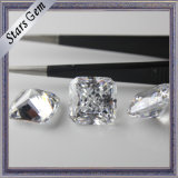 Transparent Clear White Octagon Square Princess Cut CZ Zircon