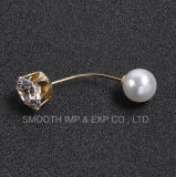 Fashion Rhinestone Brooch Shawl Pins Latest Pearl Jewelry Bead Lapel