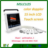 Mslcu25 Touch Screen Vascular Color Doppler Ultrasound Scanner Ultrasound Machine for Pregnanc Text