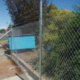 Commercial Chain Wire Fencing, Cheap Chained Mesh Fencing