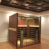 Fashion Type Spruce Wood Dry Infrared Sauna Room