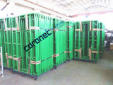 ANSI Building Material Construction High Quality Powder Coated Drop Lock Walk Thru Frame System Scaffold (CSWT564DL)