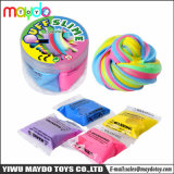 Fluffy Slime Foam Putty Puff DIY Rainbow Plasticine Stress Relief Children Toy Gift