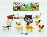 Cheap Good Quality Toys Soft Plastic Animal Set (867420)