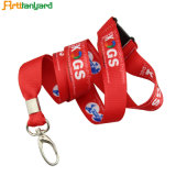 Customer printing Logo Lanyard Ribbon