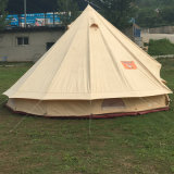 Outdoor Camping Cotton Canvas 3m 4m 5m 6m Waterproof Bell Tent Teepee Yurt Glamping Tent