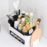 Home Multi-Functional Kitchen Seasoning Box Set Rack Cutters Rack Kitchen Supplies Plastic Storage Rack