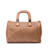 Fashion Hollow out PU Leather Women Totes Lady Handbag