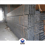 50mmx30mm Black Rectangular Steel Pipe with Reasonable Price