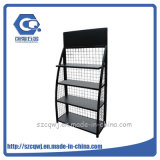 Floor Custom Metal Car Battery Display Rack for Sale