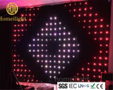 Stage Decoration RGB LED Video Curtain Cloth P18cm