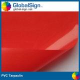 Custom Size PVC Coated Canvas Tarpaulin, Waterproof Plastic Canvas