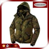 2015 Mens Top Quality Camo Waterproof Cuff Down Jacket