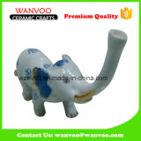 Polyresin (Ceramic) Elephant Home Decoration in Craft & Gift
