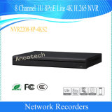 Dahua 8 Channel 1u 8poe Lite 4K H. 265 Network Video Recorder (NVR2208-8P-4KS2)