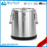 Catering Equipment Stainless Steel Insulated Food Container Barrel for Transport