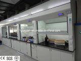 Steel Lab Fume Hood with Gear Transmission and SGS Certification (JH-FC015)