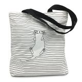 Canvas Tote Shoulder Bag Stylish Shopping Casual Foldaway Travel Bag