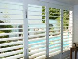 Interior PVC Window Plantation Shutters PVC Shuttering Material