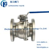 ANSI Class 150 Investment Casting Flange Stainless Steel Ball Valve Fire Safe