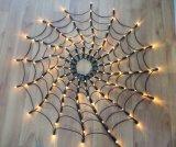 Spider Web Christmas Decoration LED Net Light
